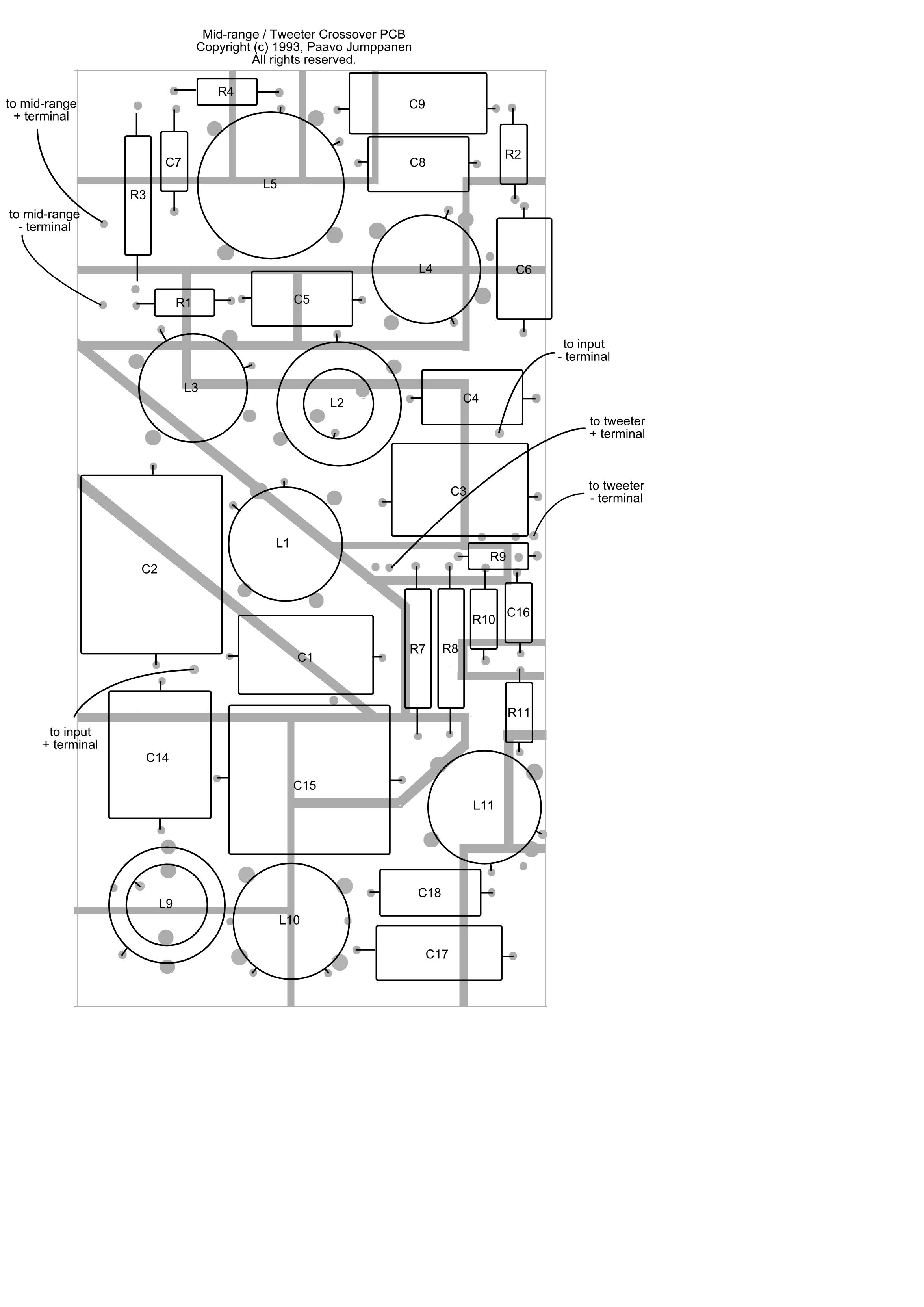 loudspeaker system design the final details har bal the rh har bal com Cat 5E Crossover Cable Diagram DBX Crossover Wiring-Diagram